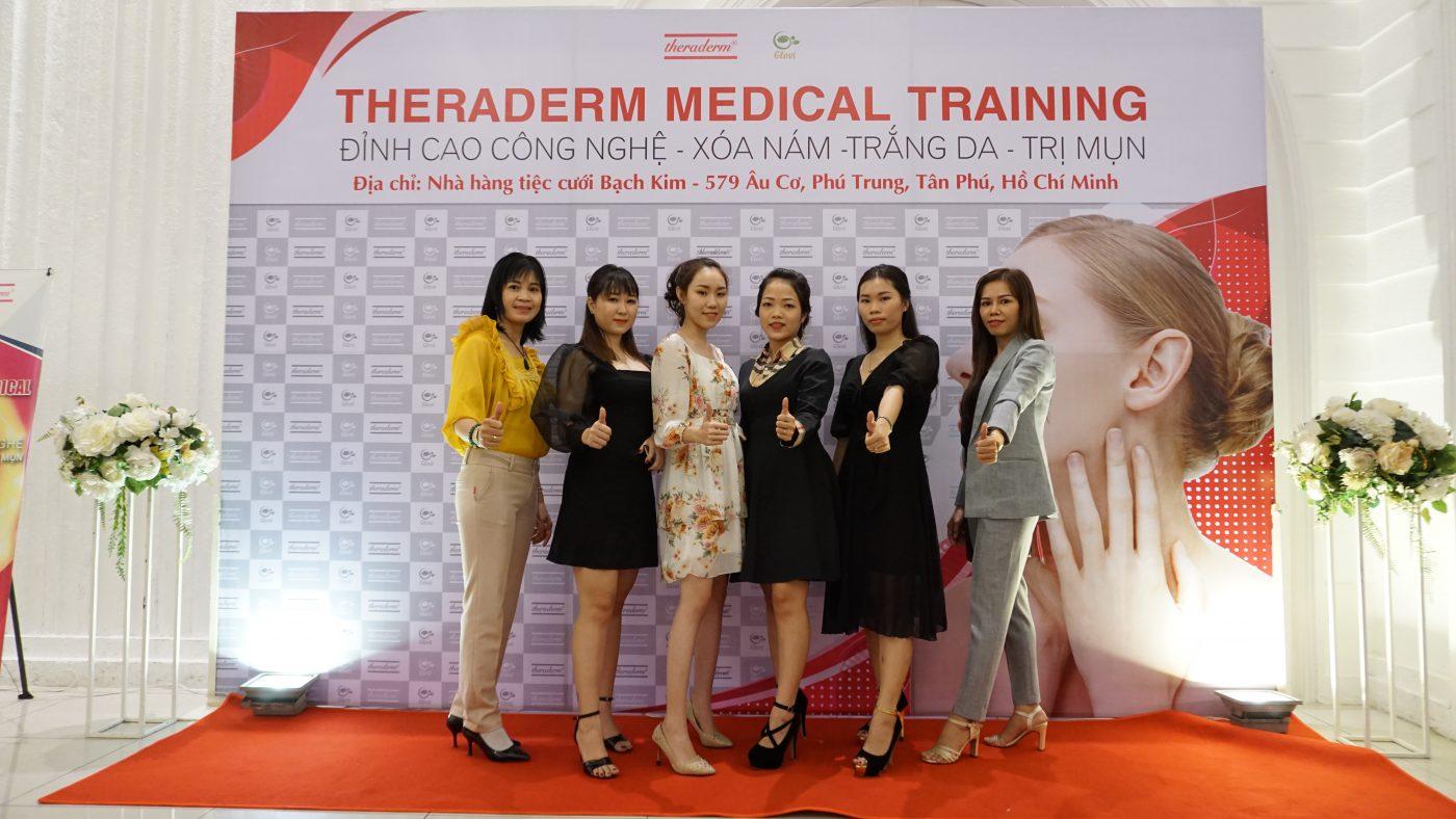 Hội thảo theraderm Medical Training tại Hồ Chí Minh