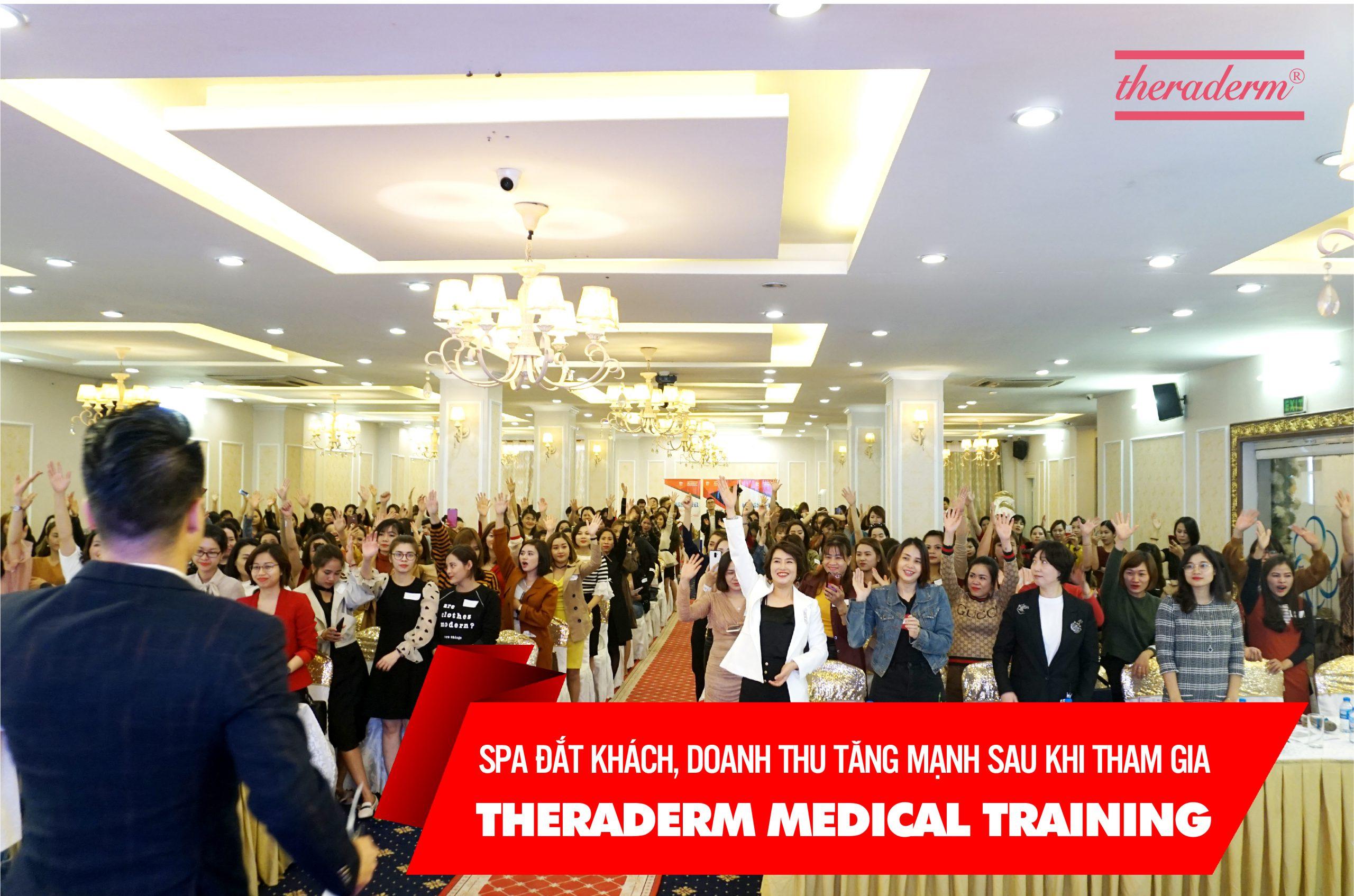 """Khóa đào tạo chuyên sâu"""" THERADERM MEDICAL TRAINING"""""""